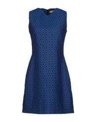 Ana Pires Short Dresses Blue
