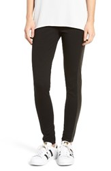 Fire Women's Stripe Faux Leather Leggings