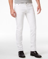 Ring Of Fire Men's Honor Slim Fit Jeans Only At Macy's White