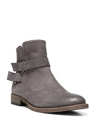 Franco Sarto Harwick Leather Ankle Boots Grey