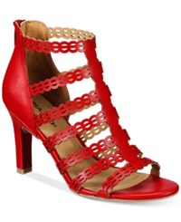 Rialto Roma Dress Sandals Women's Shoes Red
