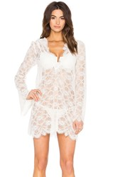 For Love And Lemons Cannes Cover Up White