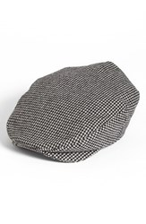 Men's Brixton 'Hooligan' Driving Cap Grey Grey Black