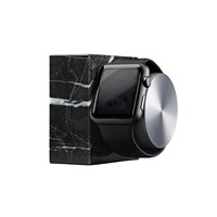 Native Union Apple Watch Marble Charging Dock Black