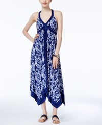 Inc International Concepts Handkerchief Hem Maxi Dress Only At Macy's Honorable Scroll
