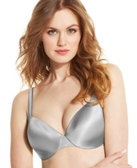 Bali Passion For Comfort Worry Free Wire Underwire Bra 3T62 Crystal Grey