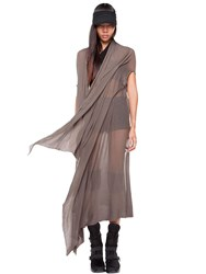 Demobaza Earth Spirit Sheer Cotton Knit Shawl