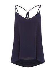 Therapy Lilah Lace Detail Cami Navy