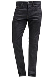 Hugo Boss Green Delaware Slim Fit Jeans Navy Dark Blue Denim