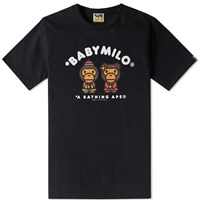 A Bathing Ape Year Of Monkey Tee Black