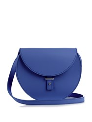 Pb Ab21 Leather Cross Body Bag Blue