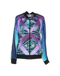 Adidas X Mary Katrantzou Topwear Sweatshirts Women Purple