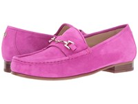 Sam Edelman Talia Magenta Haze Kid Suede Leather Women's Shoes Pink