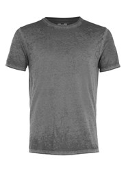 Topman Black Burnout Wash T Shirt