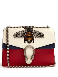 Gucci Dionysus Large Bee Applique Shoulder Bag Blue Multi