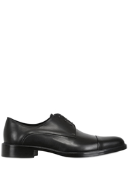 Givenchy Patent Leather Derby Lace Up Shoes Black