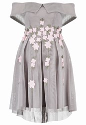 New Look Cocktail Dress Party Dress Grey