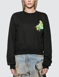Off White Racing Crewneck Sweater Black
