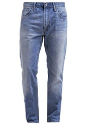 Gap Straight Leg Jeans Bright Stone Wash Blue Denim