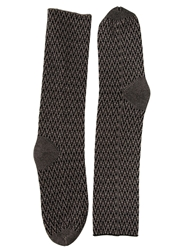 Haider Ackermann Geometric Wool Long Socks Dust