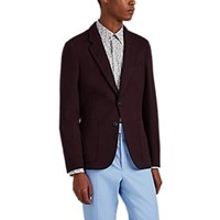 Paul Smith Soho Wool Blend Two Button Sportcoat Red