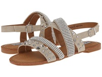 Not Rated Abbot Kinney Cream Women's Sandals Beige