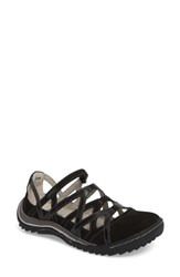 Jambu 'S Tangerine Gladiator Sport Sandal Black Leather