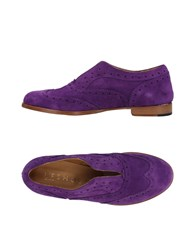 L'f Shoes Loafers Purple
