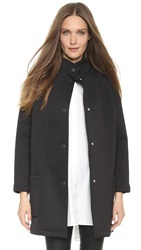 Opening Ceremony Flip Bonded Barn Coat Black