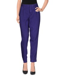 Pt01 Trousers Casual Trousers Women Purple