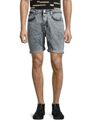 Wesc Conway Slim Fit Shorts Snow Wash