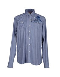 Tortuga Shirts Shirts Men Dark Blue