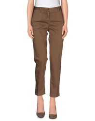 Marina Yachting Trousers Casual Trousers Women Cocoa