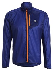 Salomon Fast Wing Sports Jacket Surf The Web Blue