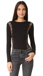 Cosabella Ritz Long Sleeve Teddy Black