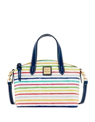 Dooney And Bourke Multi Watercolor Stripes Ruby Bag Multi Colored