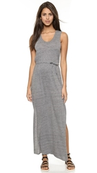 Chaser Knot Back Maxi Dress Streaky Grey
