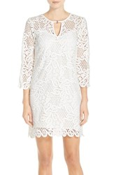 Women's Yoana Baraschi 'Celestial Garden' Lace Tunic Dress
