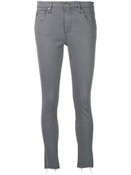 Ag Jeans Frayed Skinny Grey
