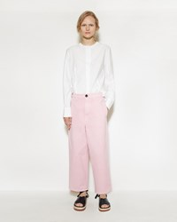 Marni Denim Trouser Cinder Rose