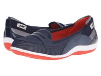 Anne Klein Welcome Navy Fabric Women's Shoes Blue