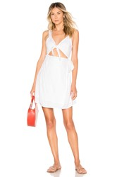 L Space Morning Star Dress White