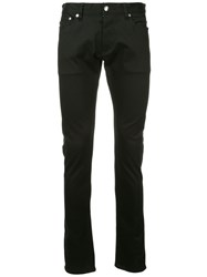Attachment Skinny Fit Trousers Black