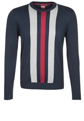 Merc Seaham Jumper Navy Dark Blue