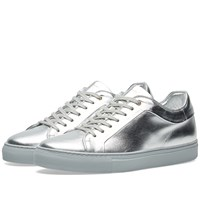 Paul Smith Metallic Basso Sneaker Silver