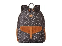 Roxy Carribean Backpack True Black Dots For Days Backpack Bags