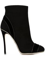Dsquared2 Trim Detail Ankle Boots Black