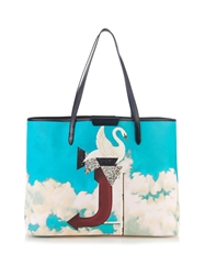 Mary Katrantzou J Melina Coated Canvas Tote