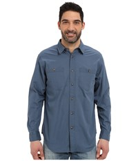 Filson Buckhorn Field Shirt Petrol Blue Men's Clothing