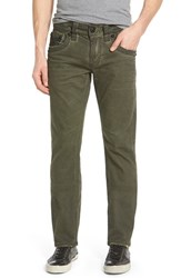 Men's Rock Revival 'Jack J17' Straight Leg Jeans Olive Green